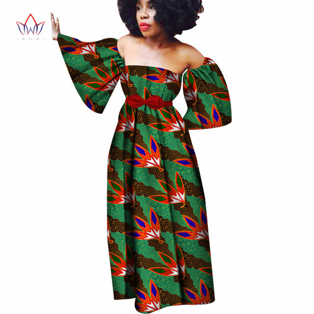 0ce6647f5db Hover to zoom · Made in China 2018 Fashion African Dresses for Women  Dashiki Plus Size African Clothes Bazin Riche