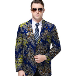 2018 Fashion African Print Men Suit Jackets African Festive Blazers African Man's Blazers African Men Clothing For Customized