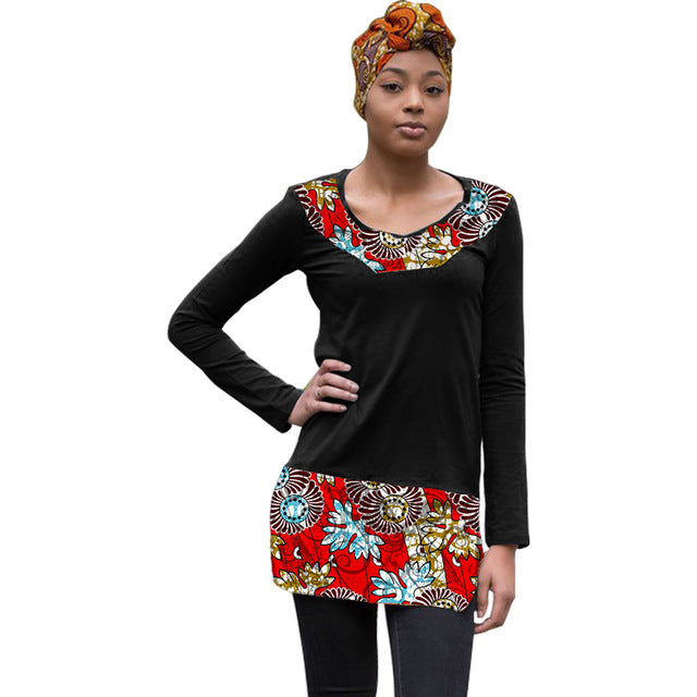 Blouses & Shirts Amolapha Women Pleated Short Style Shirts Slash Neck Full Sleeve Woman Beach Holiday Blouses Tops