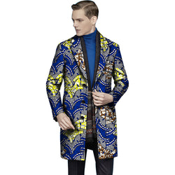 African Style Print Men Suit Jackets African Men Clothing X-Long Blazers For Party Customize African Man's Clothing Suit