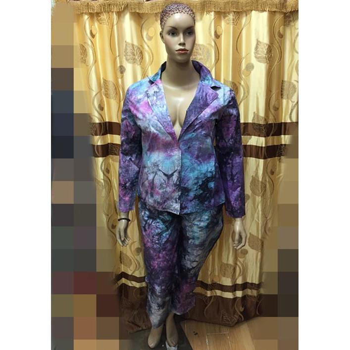2016 latest style African bazin DRSS African new style for mix color bazin riche quality -top with pants suits