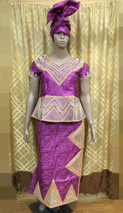 african dress bazin riche shadda damask guinea brocade with embroidery dress( cording embrodier-)zipper-K9021-BEST QUALITY