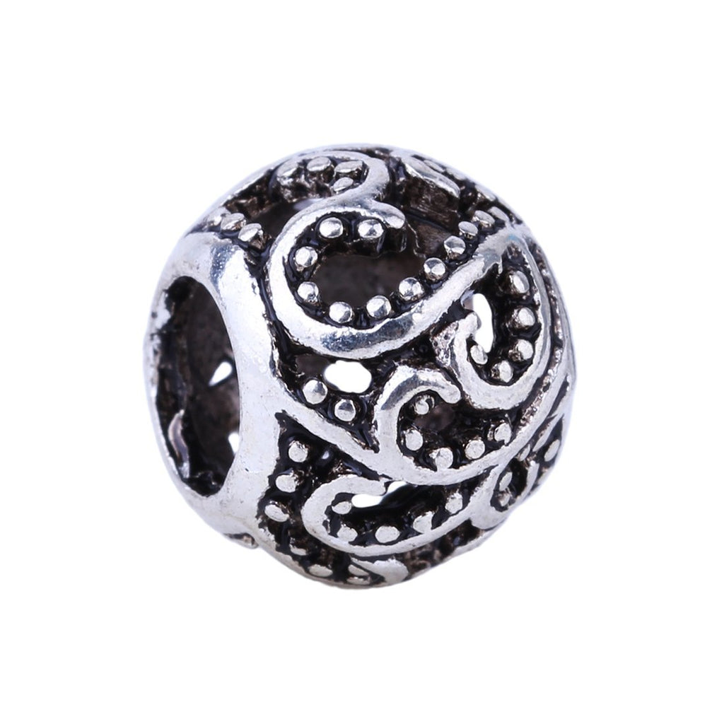 1Piece Flowers Beads Essence Freedom Charms European Fashion Silver DIY Bead Fit Pandora Bracelets & Necklace