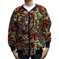 African clothing customized for men baseball dashiki coat casual outwear retro patterns bomber jackets Africa clothing