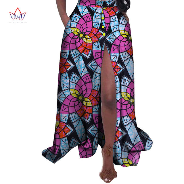 a2ea06d7d2c ... New African Print Summer Skirt for women Plus Size Dashiki African  Traditional Clothing Ball Gown Casual ...