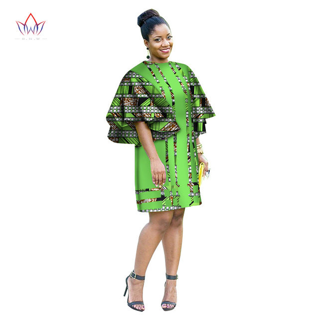 31effd2ee1b1d Hover to zoom · Summer Africa Fashion Dress for Women Dresses Bazin Riche Wax  Print Fabric Party Dresses Sexy Strapless