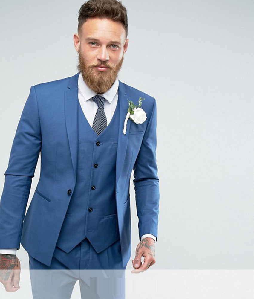 Famous Wedding Suits Blue Ensign - Colorful Wedding Dress Ideas ...