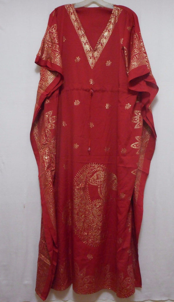 31ae0e9b5f ... Womens Caftan Dress Kaftan dashiki Hippie Boho African Casual Gown Beach  Coverup ...
