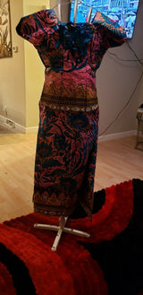 African Wax Print For Women skirt and brouse