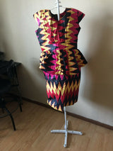 Ankara Dress For Women, African party dress, African clothing, Ankara print