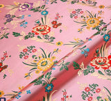 silk brocade Jacquard shiny fabric damask Apparel Costume Upholstery Furnishing Curtain DIY Clothing Material fabric 1M/lot
