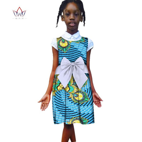 b6478c5732c ... Image of Fashion 2018 New Style Africa Dress for Children Dashiki Cute  Girls Dresses Bazin Riche ...