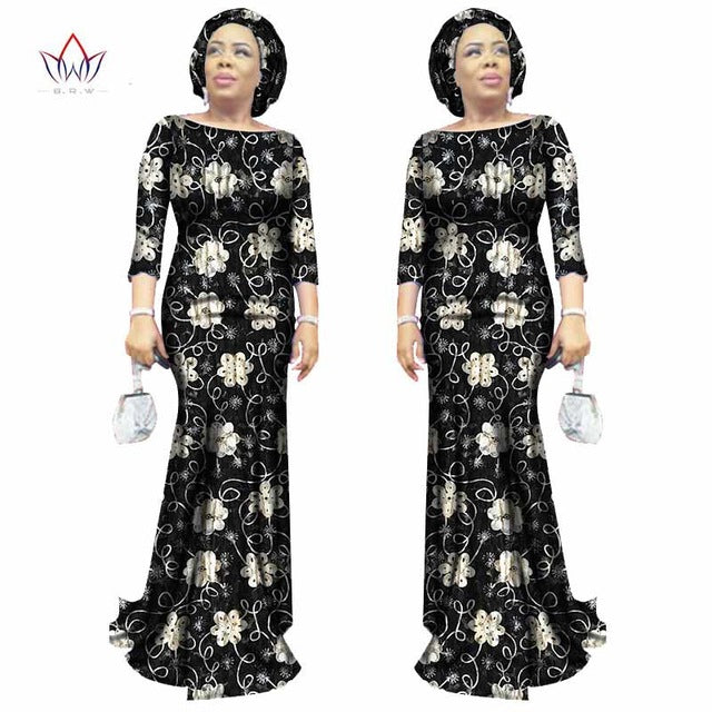 5aaf6b9b5f3 Bodycon Plus Size Women traditional african Lace dresses Brand ...