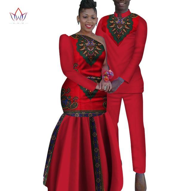 34845241ba Hover to zoom · 2018 new Men Sets and women's clothing for the wedding  summer traditional african clothing couples matching