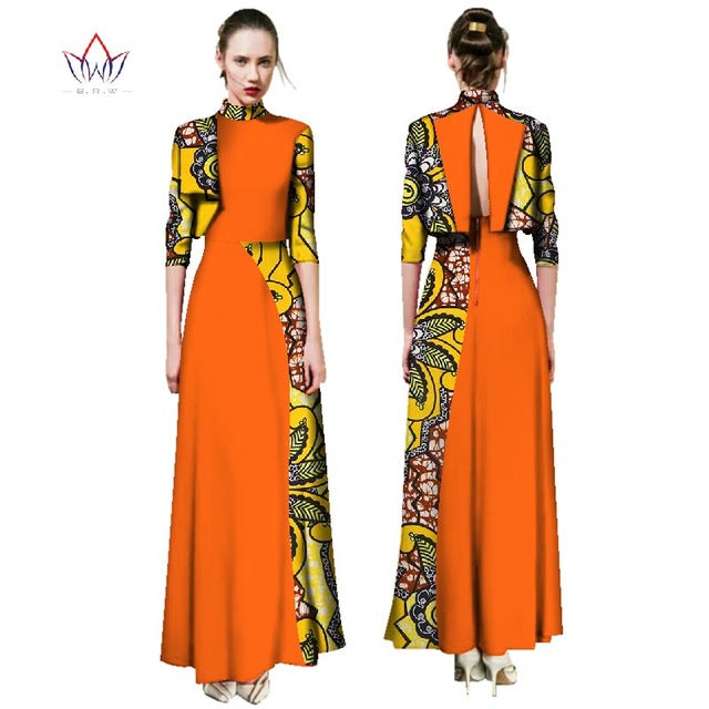 244e942ffed Summer Dress 2018 Fashion African Dresses for Women Traditional Plus Size  African Clothes Dashiki Elegant Dress. Hover to zoom