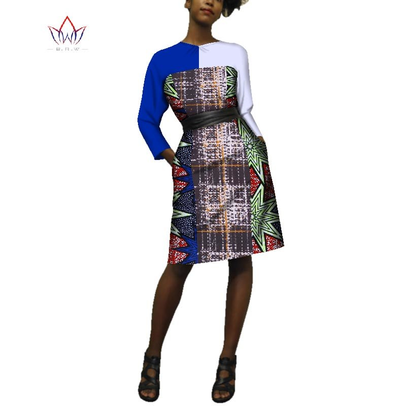 4c9c2044892 ... women dress summer 2018 african plus size clothing straight office  dress o-neck african dashiki ...