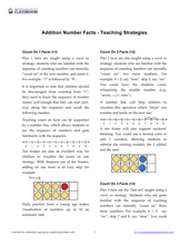 "Yr 3 eBook ""Ten Minutes a Day"", Level 1 Book 1: Addition - Professor Pete's Classroom"