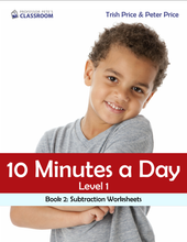 "Yr 3 eBook ""Ten Minutes a Day"", Level 1 Book 2: Subtraction - Professor Pete's Classroom"