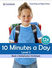 "Yr 4 eBook ""Ten Minutes a Day"", Level 2 Book 2: Multiplication - Professor Pete's Classroom"