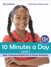 "Yr 5 eBook ""Ten Minutes a Day"", Level 3 Book 2: Extended Multiplication & Division - Professor Pete's Classroom"