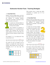 "Yr 2 eBook ""Let's Go!"" Book 3: Subtraction - Professor Pete's Classroom"