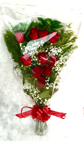 Bouquet Rose Rosse Verticale