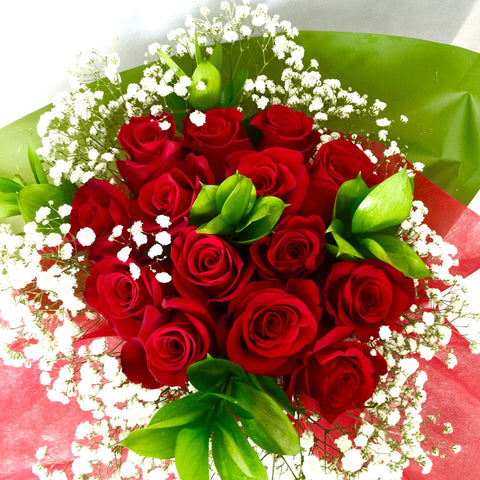 Bouquet Rose Rosse W