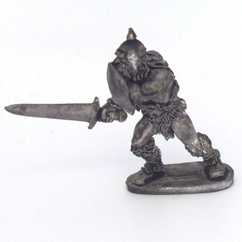 Barbarian with Sword & Shield; Helm (0099)