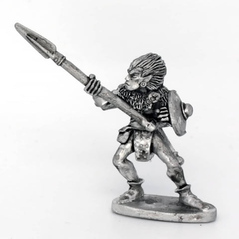 Wood Elf with spear thrusting (0145)