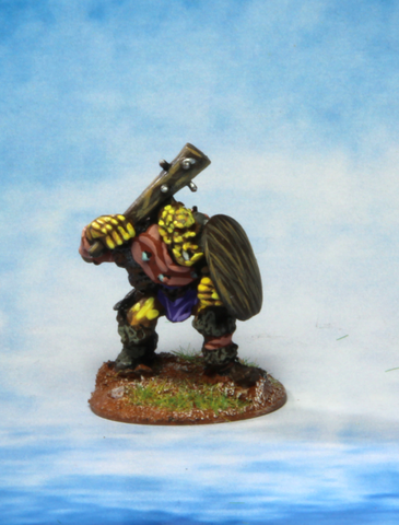 Orc with Club and shield (0197)
