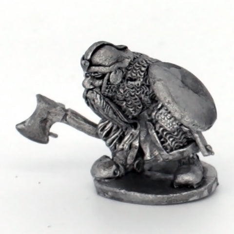 Dwarf with Axe And Shield (0227)