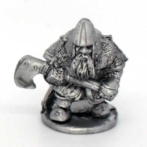 Dwarf Advancing With Large Axe (0229)