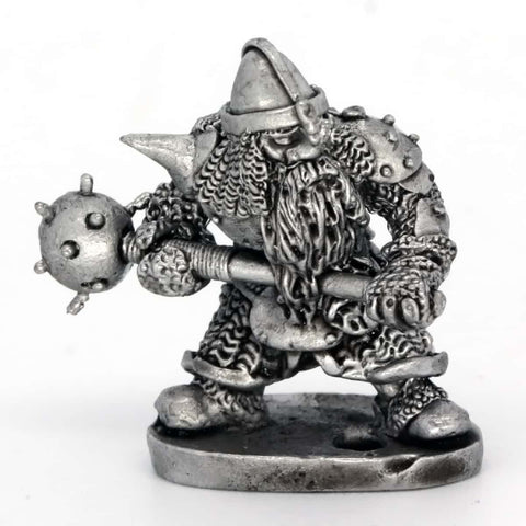 Dwarf with Spiked Mace (0232)