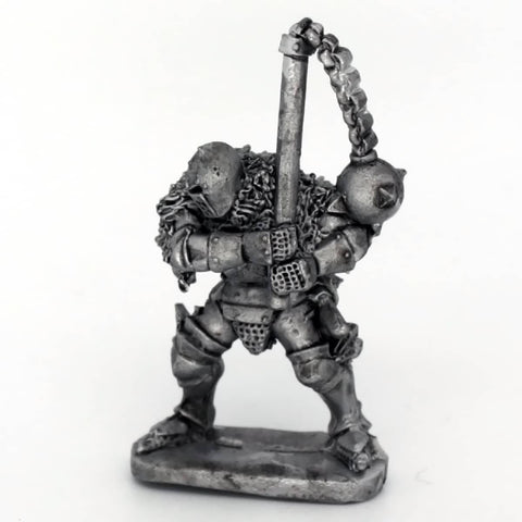 Medieval Knight Swinging Flail (0258)