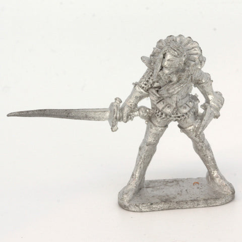 Dark Elf With Sword and Mask (0287)
