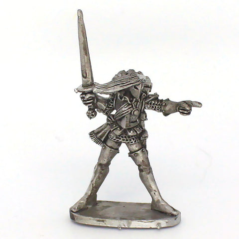 Dark Elf Leader with Sword (0289)