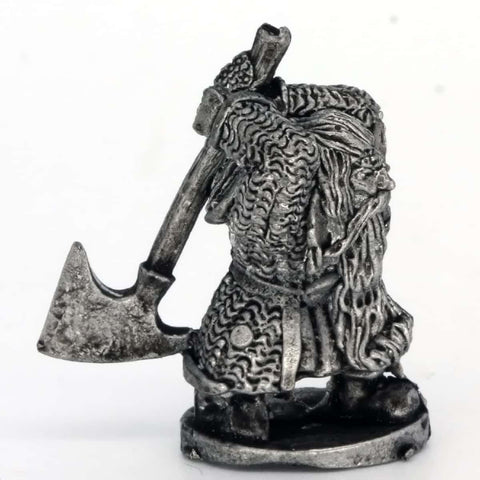 Dwarf Swinging Large Axe (0382)