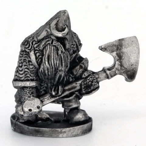 Dwarf with Large Axe Ready (0383)