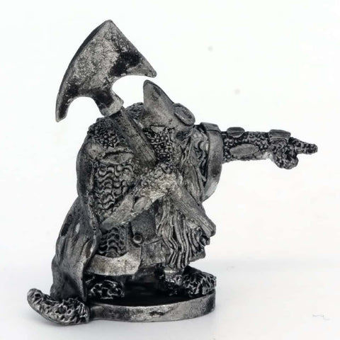 Dwarf Unit Leader with Large Axe (0386)
