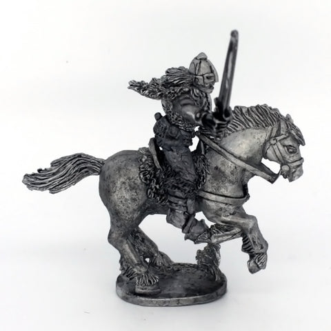 Barbarian Cavalry; Warrior With Mail Shirt; Sword; Shield (0393)