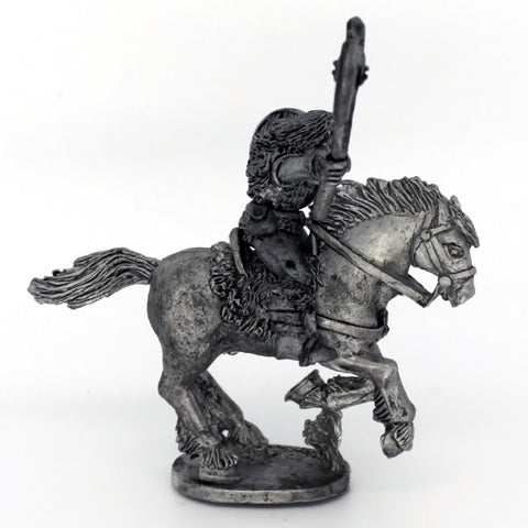 Barbarian Cavalry holding axe aloft 2 (0396)