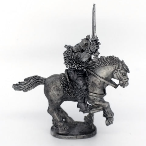 Barbarian Cavalry; Warrior With Mail Shirt; Sword (0398)
