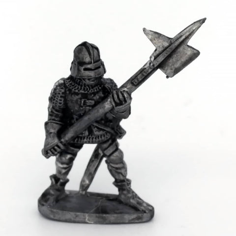 Medieval Warrior with Halberd (0483)