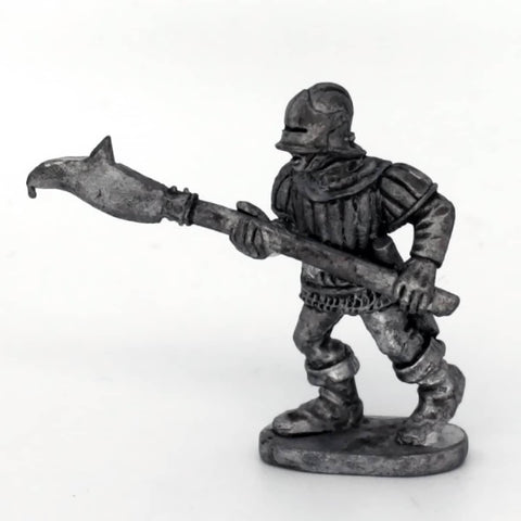 Medieval Billman Advancing (0484)