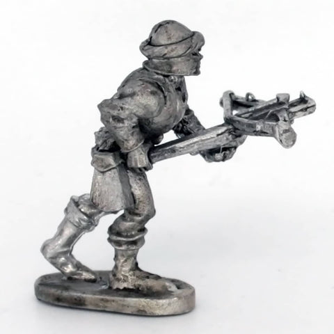 Medieval Crossbowman Advancing (0496)