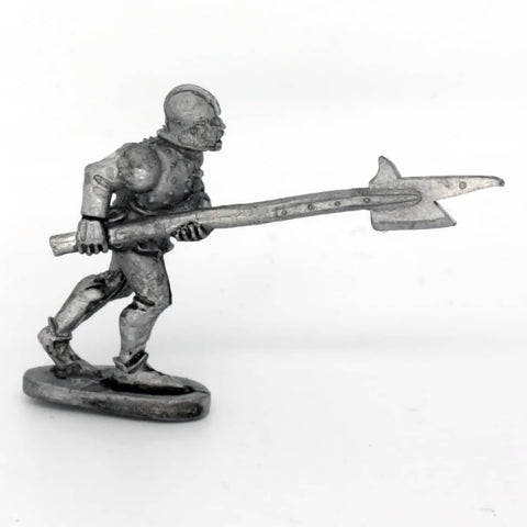 Medieval Billman Advancing (0501)