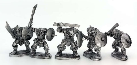 Half Orcs With Hand Weapons (1432)