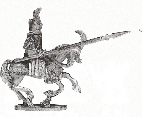 High Elf Cavalry Lancers with Plumed Helm (1436)