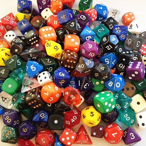 Bulk Pack - over 100 mixed Dice