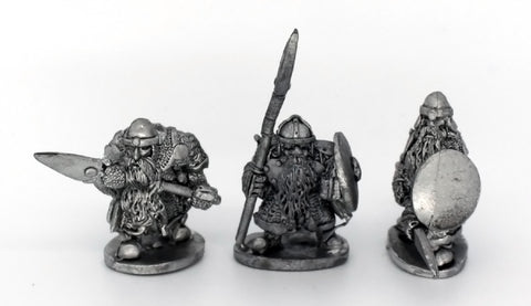 Dwarf Warriors With Spears (931)